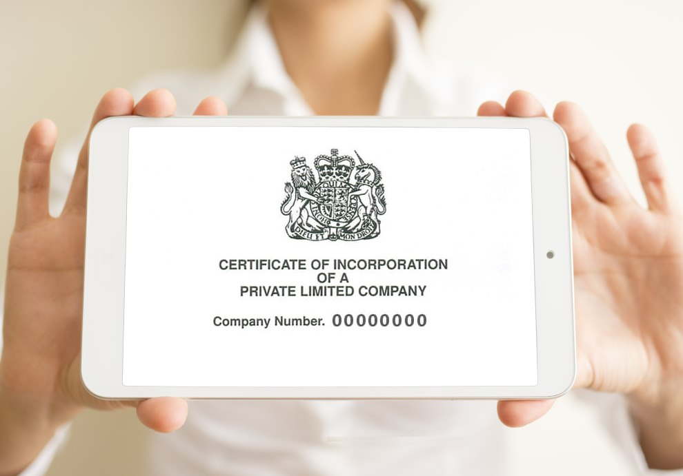 Certificate of Incorporation Defined